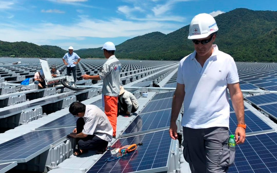 Contributing to floating PV in Vietnam